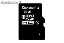 Memoria Micro Sd Hc 8gb Kingston Blister