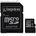 Memoria micro sdhc kingston 32GB clase 10 SDC10G2/32GB( adaptador microsdhc a sd