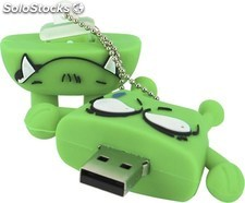 Memoria Mooster usb 8GB toons angry monster mx 287