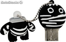 Memoria Mooster USB 8GB TOONS cool black bandaged boy mx 273