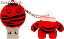 Memoria Mooster USB 8GB TOONS cool red bandaged boy mx 277