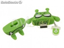 Memoria Mooster usb de 16 GB diseño monstruo verde angry monster TOON USB