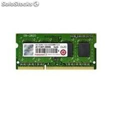 Memoria portatil ddr3 4gb 1333 mhz pc10600 transcend