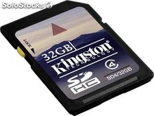 Memoria SD 32GB secure digital Kingston SD4/32GB