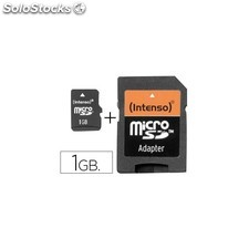 Memoria sd micro intenso flash