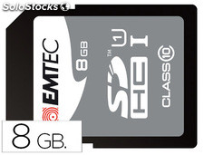 Memoria sdhc emtec flash 8 gb clase 10