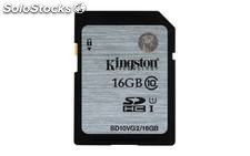 Memoria secure digital 16GB kingston sdhc clase 10