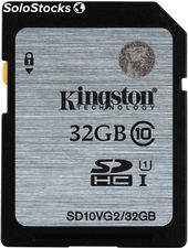 Memoria secure digital 32GB kingston sdhc clase 10
