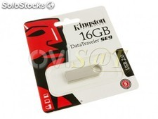 Memoria USB 16 GB Kingston Technology DataTraveler SE9 para Windows - Mac