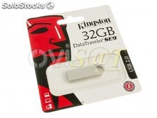 Memoria USB 32 GB Kingston Technology DataTraveler SE9 para Windows - Mac