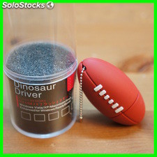 Memoria Usb 8 GB Dinosaur Driver Balon Rugby Pendrive Usb 2.0 flash Pen Drive