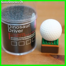 Memoria Usb 8 GB Dinosaur Driver Pelota Golf Pendrive Usb 2.0 flash Pen Drive
