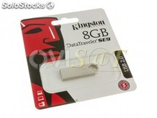 Memoria USB 8 GB Kingston Technology DataTraveler SE9 para Windows - Mac