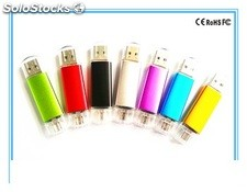 Memoria Usb 8 GB Otg Logo para movil y ordenador pc