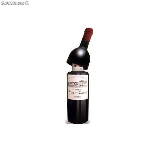 Memoria usb botella vino 1GB