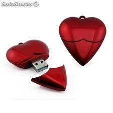 Memoria usb corazon 1GB