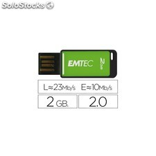 Memoria usb emtec flash 2GB