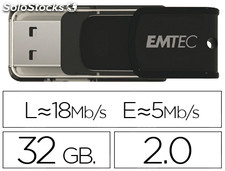 Memoria usb emtec flash 32 gb 2.0 candy