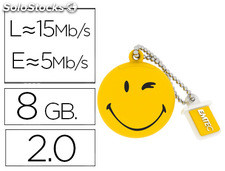 Memoria usb emtec flash 8 GB 2.0 animals take it easy