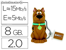 Memoria usb emtec flash 8 GB 2.0 scooby doo