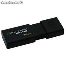 Memoria usb kingston DataTraveler DT100G3 16 Gb usb 3.0 negro
