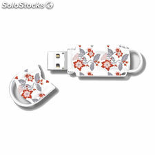 Memoria usb - pendrive 32 GB integral xpression floral 1