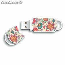 Memoria usb - pendrive 64 GB integral xpression floral