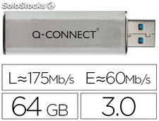 Memoria usb q-connect flash 64 GB 3.0