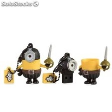 Memoria usb tribe 16 GB minions movie pirata usb 2.0