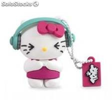 Memoria usb tribe 8gb hello kitty dj usb 2.0