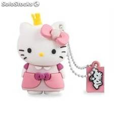 Memoria usb tribe 8gb hello kitty princess usb 2.0