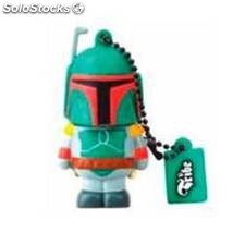 Memoria usb tribe 8gb star wars boba fett usb 2.0