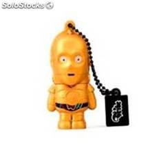 Memoria usb tribe 8gb star wars c-3po usb 2.0