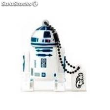 Memoria usb tribe 8gb star wars r2-d2 usb 2.0