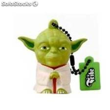 Memoria usb tribe 8gb star wars yoda usb 2.0