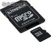 Memorias micro sd kingston