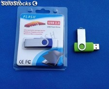memorias usb 1gb giratorio