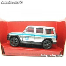 Mercedes benz g-class scale 1/43 jada jurassic world