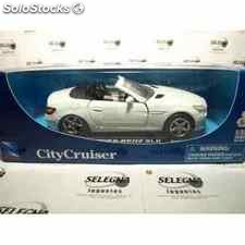 Mercedes benz slk escala 1/32 new ray coche metal miniatura