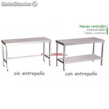 Mesa acero inoxidable