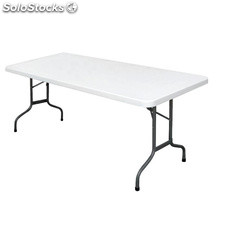 Mesa Bolero multiusos rectangular plegable 183cm U579