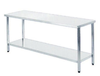 Mesa central acero inoxidable 1000x600x850mm