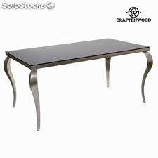 Mesa comedor elegance acero by Craftenwood
