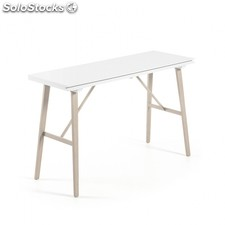 Mesa consola extensible Aryon - Color - Blanco