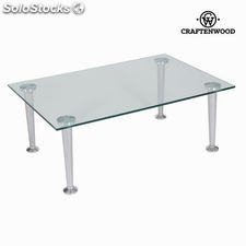 Mesa de centro cristal by Craftenwood