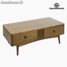 Mesa de Centro Teca Mdf Marrón (120 x 60 x 44 cm) - Colección Be Yourself...