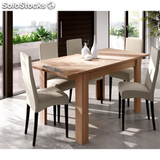 Mesa de comedor extensible color nature