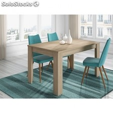 Mesa de comedor extensible Kendra - Color - Roble Canadian