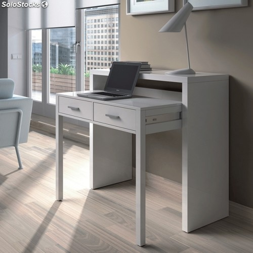 mesa de escritorio extensible bureau. Black Bedroom Furniture Sets. Home Design Ideas