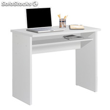 Mesa estudio color blanco brillo